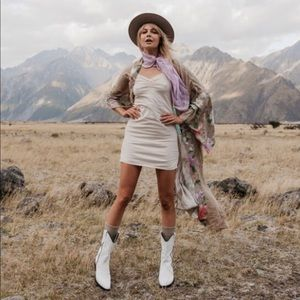NWT Spell Lana Organic Cotton Slip Size Large